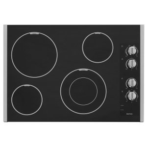 Maytag30-Inch Wide Electric Cooktop With Speed Heat Element