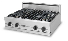 "30"" Open Burner Rangetop - VGRT (30"" wide rangetop with four burners)"