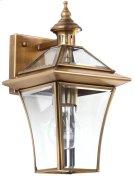 Virginia Single Light Sconce - Brass Lamp Product Image