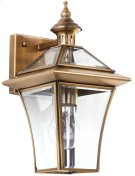 Virginia Single Light Sconce - Brass Lamp Product Image