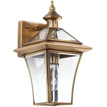 Virginia Single Light Sconce - Brass Lamp