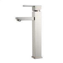 Fulton Single Handle Vessel Faucet - Brushed Nickel
