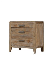 Emerald Home Torino 3 Drawer Nightstand Sandstone B323-04