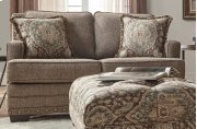 Malibu Canyon Buckhorn w/Tapestry Ocean Cliff Loveseat Product Image