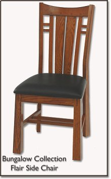 Flared Side Chair