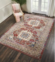 Cordoba Crd01 Brick Rectangle Rug 7'10'' X 10'6''