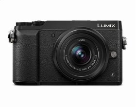 LUMIX GX85 4K Mirrorless Interchangeable Lens Camera Kit, 12-32mm Lens, 16 Megapixels, Dual Image Stabilization, Electronic Viewfinder, WiFi - Black