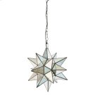 Large Star Chandelier With Antique Mirror Product Image