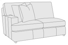 Winslow Left Arm Loveseat