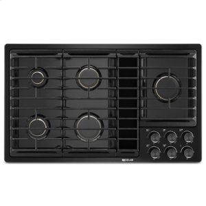 "Jenn-AirBlack 36""JX3 Gas Downdraft Cooktop"