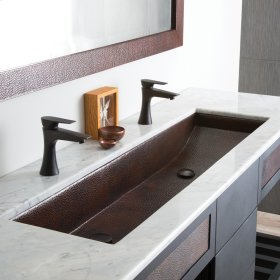 Polished Copper Trough 48