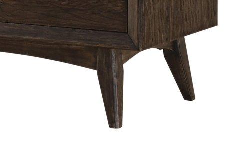 Emerald Home Millenium 2 Drawer Nightstand Weathered Oak B218-03