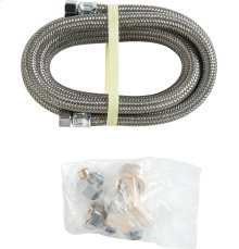 12' Braided Dishwasher Universal Conn Kit