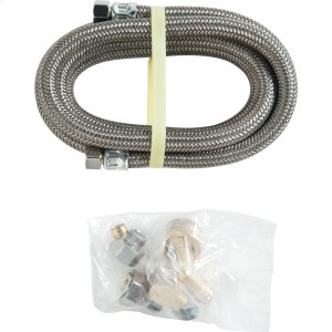 12' Universal Dishwasher Connector Kit with Adapter -