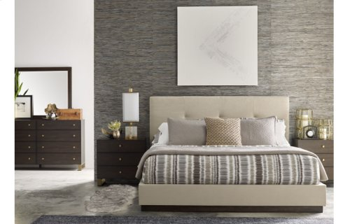 Austin by Rachael Ray Upholstered Wall Bed, CA King 6/0