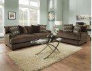 1600 Ultimate Chocolate Sofa Product Image