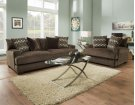 1600 Ultimate Chocolate Sofa Product Image