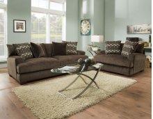 1600 Ultimate Chocolate Sofa