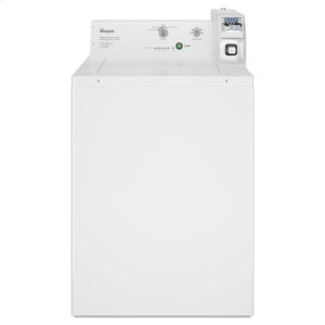 Whirlpool® Commercial Top-Load Washer, Coin Equipped - White -