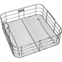 """Elkay Stainless Steel 14-1/4"""" x 14-1/4"""" x 7"""" Rinsing Basket"""