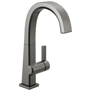 Black Stainless Single Handle Bar Faucet Product Image
