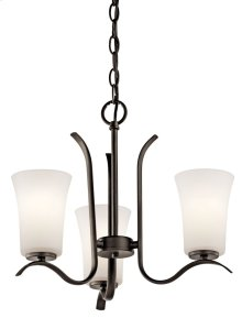 Armida 3 Light Mini Chandelier Olde Bronze®