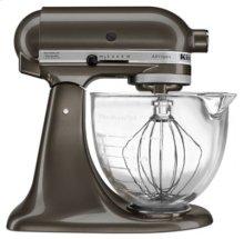 Artisan® Design Series 5 Quart Tilt-Head Stand Mixer with Glass Bowl - Truffle Dust