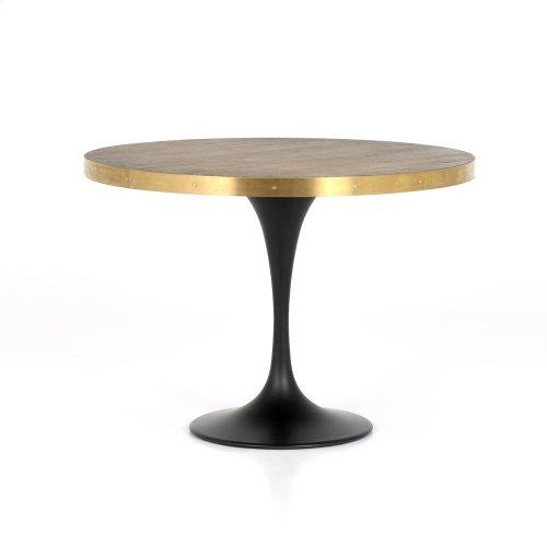 Evans Bistro Table-reclaimed Burnt Oak