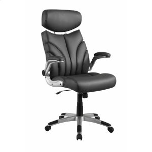 CoasterContemporary Grey and Silver Office Chair