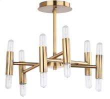 Fidelma Flush Mount - Gold