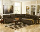 Toletta - Chocolate 7 Piece Sectional Product Image