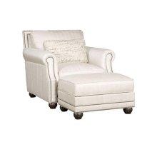 Julianna Fabric Chair, Julianna Ottoman