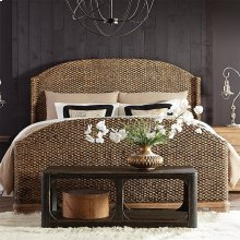 Sherborne - King Woven Headboard - Toasted Pecan Finish