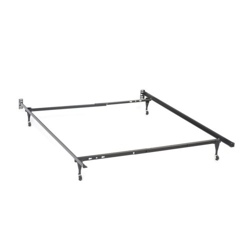 Metal Bed Frame for Queen, Eastern King and California King Headboards