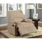 Casual Brown Glider Recliner Product Image