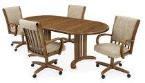 Table Base: Double Pedestal (chestnut) Product Image
