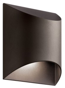 Wesly 1 Light LED Wall Light Textured Architectural Bronze