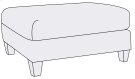 Brooke Ottoman in Brandy (703) Product Image