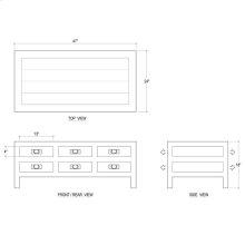 Kagu 12 Drawer Coffee Table