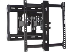 """Black All-Weather Full-Motion Wall Mount Dual extension arms for 42"""" - 84"""" flat-panel TVs - extends 20"""" / 52.07 cm"""
