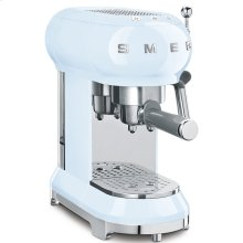 Espresso Coffee Machine Pastel blue