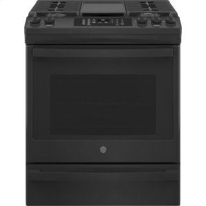 """GEGE(R) 30"""" Slide-In Front-Control Convection Gas Range with No Preheat Air Fry"""