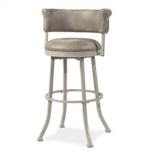 Westport Swivel Counter Stool - Dark Brush Ivory