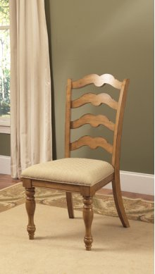 Hamptons Ladder Back Dining Side Chair