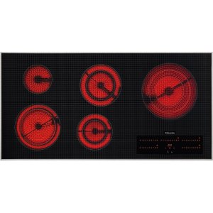MieleKM 5880 208V Electric cooktop in maximum width for the best possible cooking and user convenience.
