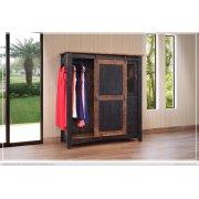 3 Drawer, 1 Sliding door, 1 Mesh door Gentleman's Chest Product Image