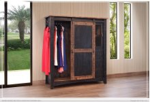 3 Drawer, 1 Sliding door, 1 Mesh door Gentleman's Chest