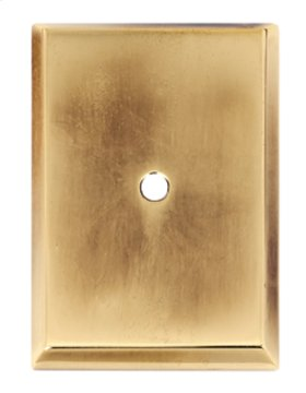 Traditional Backplate A610-45 - Polished Antique
