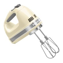 7-Speed Hand Mixer - Almond Cream