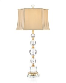 Briolette Crystal Table Lamp